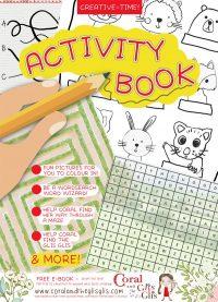 Coral and the Glis Glis - Activity Book - Cover