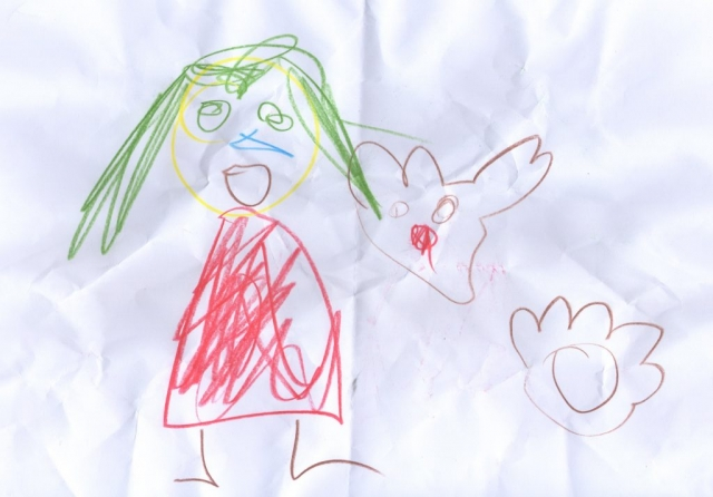Picture by Thomas Age 4