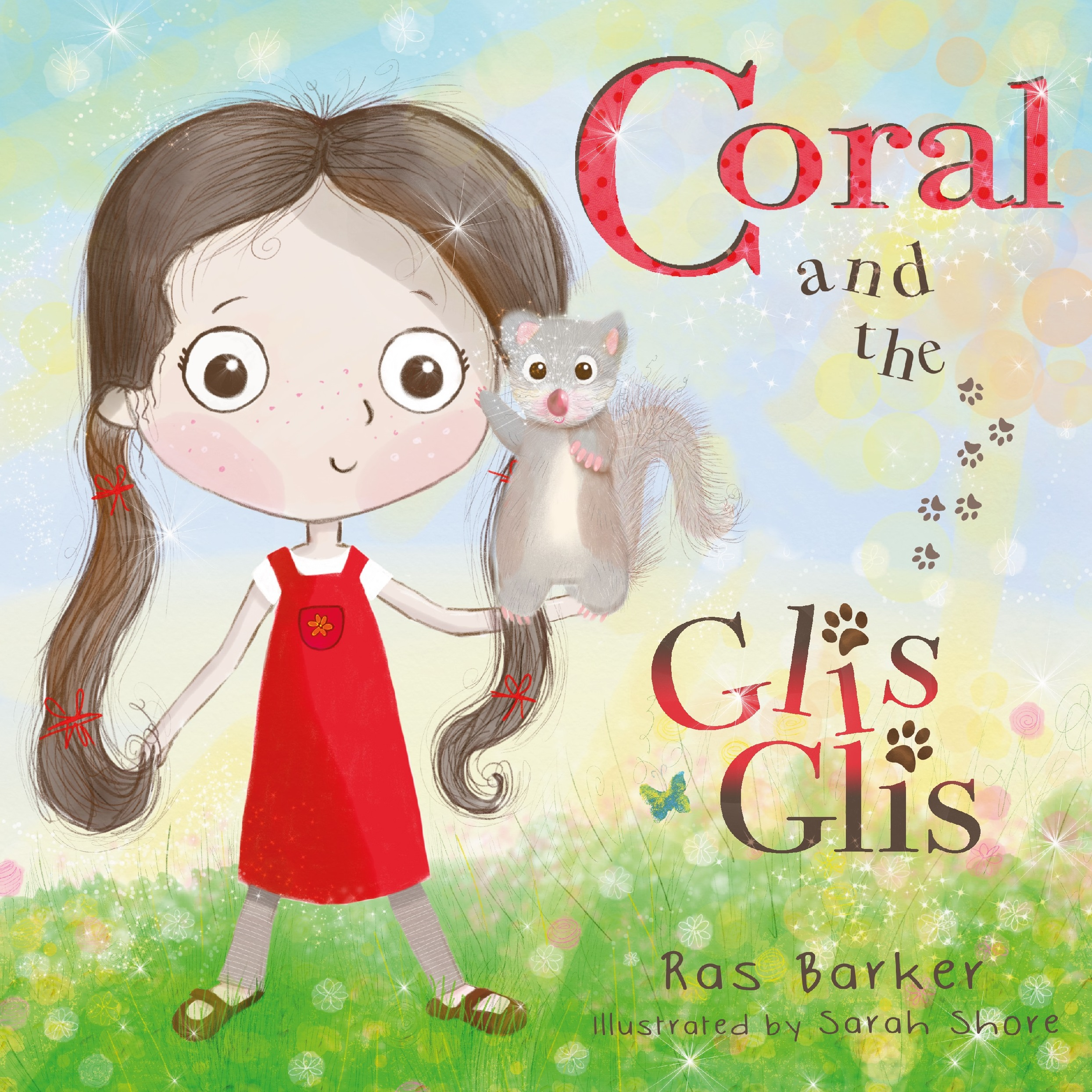 Coral and the Glis Glis - Book Front Cover